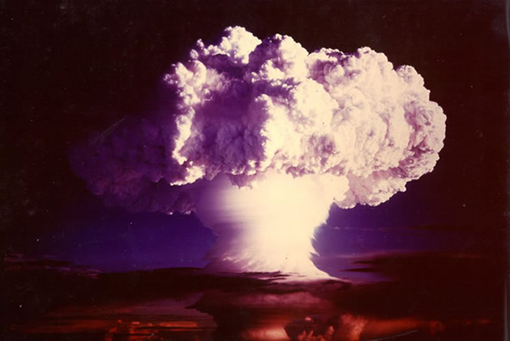 US nuclear weapon test